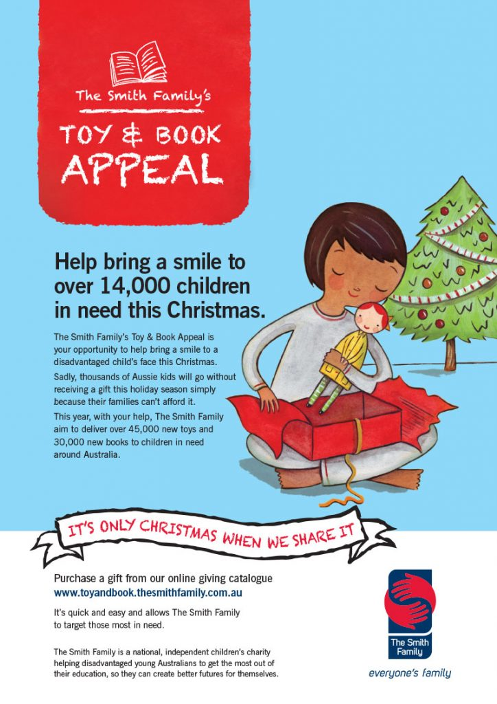 The Smith Family Toy & Book Appeal